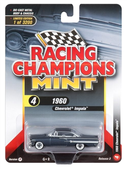 Racing Champions Mint 2018 Release 2 Set A (6-Car Sealed Case) 1:64 Diecast