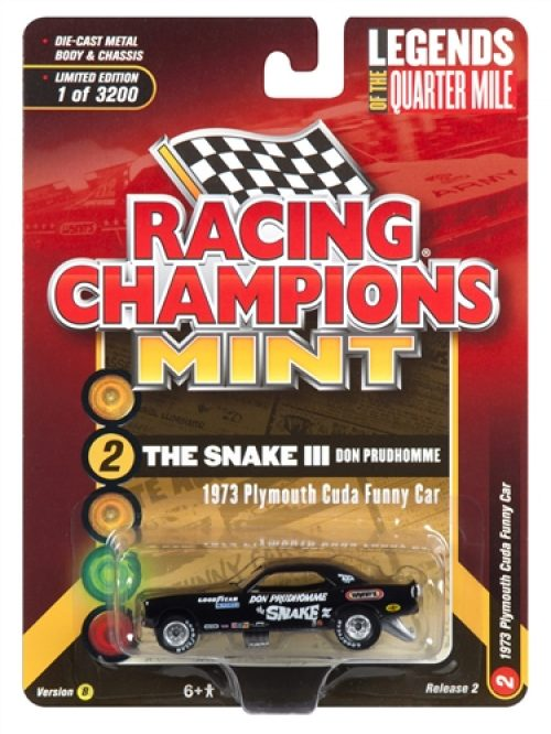 Racing Champions Mint 2018 Release 2 Set B (6-Car Sealed Case) 1:64 Diecast