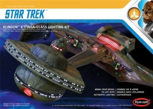 Polar Lights Star Trek Klingon K't'inga Lighting Kit 1:350 Scale