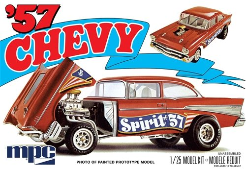 "MPC 1957 Chevy Bel Air ""Spirit of 57"" 1:25 Scale Model Kit"