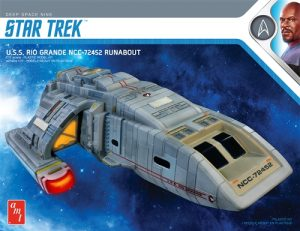 AMT Star Trek DS9 Rio Grande Runabout 1:72 Scale Model Kit