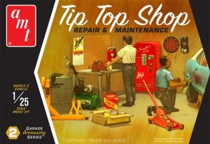AMT Garage Accessory Set #2 1:25 Scale Model Kit