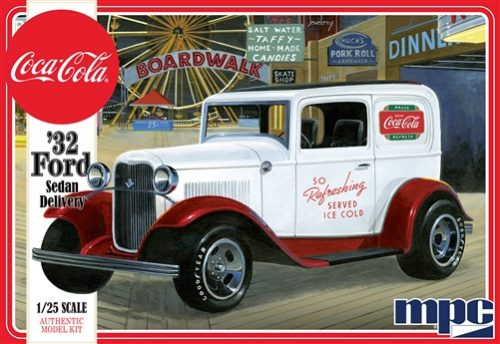 MPC 1932 Ford Sedan Delivery (Coca Cola) 1:25 Scale Model Kit