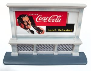 Classic Metal Works Billboard (Coca-Cola) 1:87 HO Scale