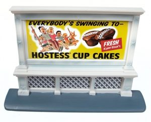 Classic Metal Works Billboard (Hostess) 1:87 HO Scale