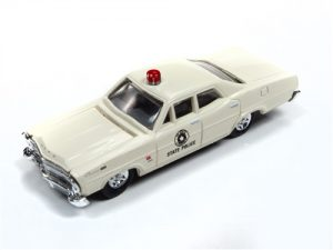 Classic Metal Works 1967 Ford State Police Car 1:87 HO Scale