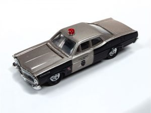 Classic Metal Works 1967 Ford State Hwy Patrol Car 1:87 HO Scale
