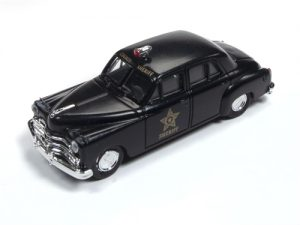 Classic Metal Works 1950 Dodge County Sheriff Car 1:87 HO Scale