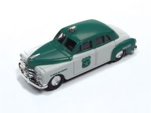 Classic Metal Works 1950 Dodge Police Car 1:87 HO Scale