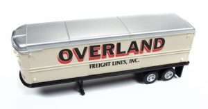 Classic Metal Works AeroVan Trailer (Overland Freight) 1:87 HO Scale