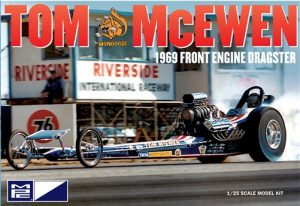 MPC Tom McEwen Tirend Front Engine Dragster 1:25 Scale Model Kit