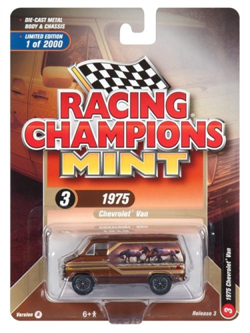 Racing Champions Mint 2018 Release 3 Set A (6-Car Sealed Case) 1:64 Diecast