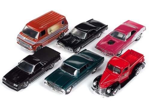 Racing Champions Mint 2018 Release 3 Set B (6-Car Sealed Case) 1:64 Diecast