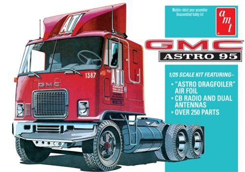 AMT GMC Astro 95 Semi Tractor 1:25 Scale Model Kit