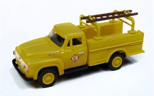 Classic Metal Works 1954 Ford Hi-Rail Railroad Truck (Erie Lackawanna) 1:87 HO Scale