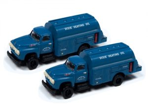 Classic Metal Works 1954 Ford Tank Truck (Dixie Gas Corp) (2-Pack) 1:160 N Scale