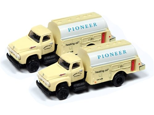 Classic Metal Works 1954 Ford Tank Truck (Pioneer Heating Co) (2-Pack) 1:160 N Scale