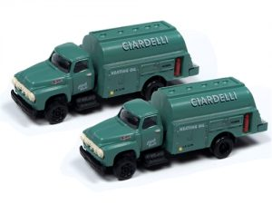 Classic Metal Works 1954 Ford Tank Truck (Ciardelli Heating Co) (2-Pack) 1:160 N Scale