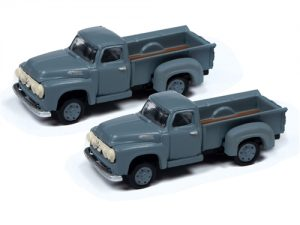 Classic Metal Works 1954 Ford Pickup (Dovetone Gray) (2-Pack) 1:160 N Scale