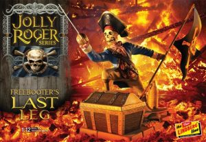 Lindberg Jolly Roger Series: The Freebooter's Last Leg  1:12 Scale Model Kit