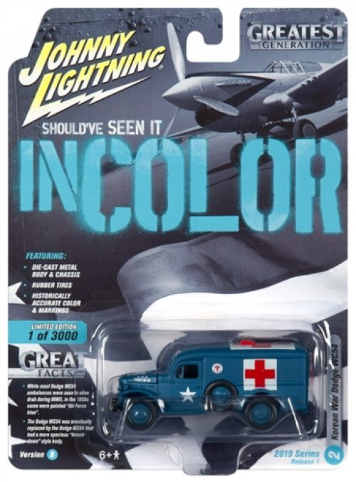 Johnny Lightning Military 2019 Release 1 Set B (6-Piece Sealed Case) Diecast