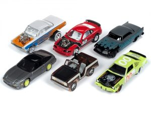 Johnny Lightning Street Freaks 2019 Release 1 Set B (6-Car Sealed Case) 1:64 Scale Diecast