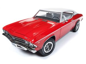American Muscle 1969 Chevrolet Chevelle Hardtop (Class of 1969) 1:18 Scale Diecast