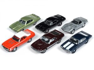 Johnny Lightning Muscle Cars USA 2019 Release 1 Set B (6-Car Sealed Case) 1:64 Diecast
