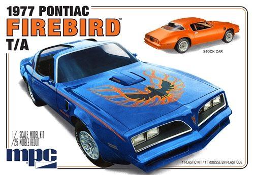 MPC 1977 Pontiac Firebird T/A 1:25 Scale Model Kit
