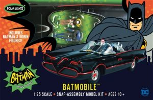 Polar Lights 1966 Batmobile (Snap) 1:25 Scale Model Kit