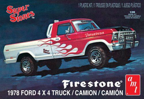 "AMT 1978 Ford Pickup ""Firestone Super Stones"" 1:25 Scale Model Kit"