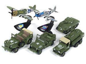 Johnny Lightning Military 2018 Release 3 - Set A