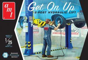 "AMT Garage Accessory Set #3 ""Get On Up"" 1:25 Scale Model Kit"