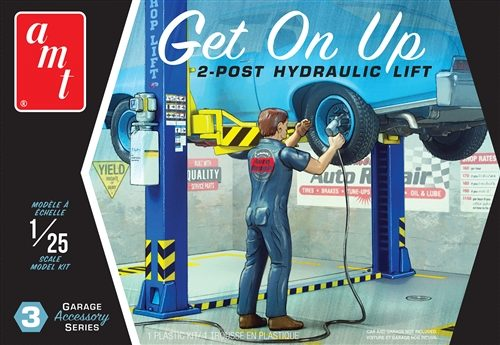 "AMT Garage Accessory Set #3 ""Get On Up"" 1:25 Scale Model Kit"