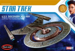 Polar Lights Star Trek U.S.S. Discovery NCC-1031 1:2500 Scale Snap Kit