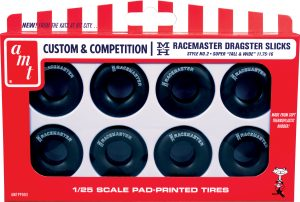 AMT M&H Racemasters Jumbo Drag Slicks Tire Pack