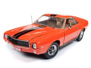 American Muscle 1969 AMC AMX Hardtop (Hemmings Muscle Machines) 1:18 Scale Diecast