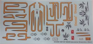 AMT 1962 Buick Electra 1:25 Scale Decals