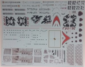 AMT Interplanetary UFO Mystery Ship Decals