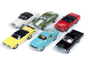 Johnny Lightning Classic Gold 2019 Release 1 Set A (6-Car Sealed Case) 1:64 Diecast