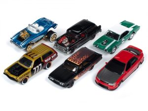 Johnny Lightning Street Freaks 2019 Release 2 Set B (6-Car Sealed Case) 1:64 Scale Diecast