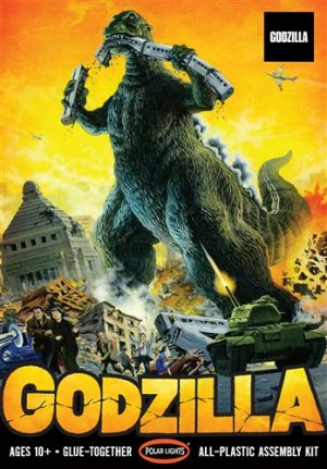 Polar Lights Godzilla 1:144 Scale Model Kit