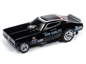 "Auto World 4Gear R22 Don ""Big Daddy"" Garlits - 1971 Dodge Charger Funny Car HO Scale Slot Car"