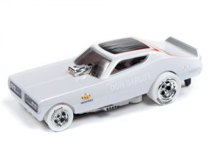 "Auto World 4Gear R22 Don ""Big Daddy"" Garlits - 1971 Dodge Charger Funny Car iWheels HO Scale Slot Car"
