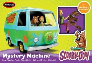 Polar Lights Scooby Doo Mystery Machine 1:25 Scale Snap Kit