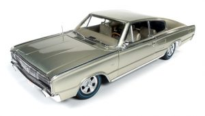 American Muscle 1966 Dodge Charger Fastback (50th Anniversary) 1:18 Scale Diecast