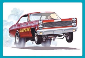 AMT 1967 Mercury Cyclone Eliminator II (Dyno Don Nicholson) 1:25 Scale Model Kit