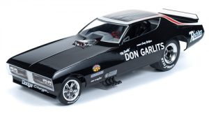 Auto World 1971 Don Garlits Charger Funny Car (Legends of 1/4 Mile) 1:18 Scale Diecast