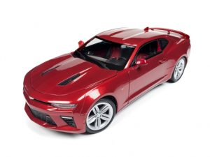 Auto World 2016 Chevy Camaro SS GarRed 1:18 Scale Die-Cast