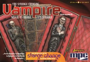 MPC Strange Change Vampire  1:12 Scale Model Kit